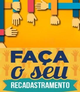 RECADASTRAMENTO 2019: APOSENTADOS E PENSIONISTAS.